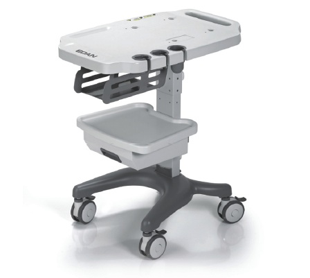 Edan mobile cart for portable ultrasound systems