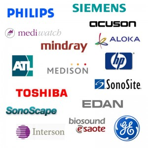 Diagnostic Ultrasound Equipment-Ultrasound Manufacturer Logo Compilation