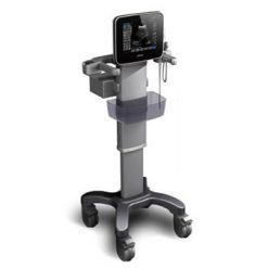 Ultrasound Machines for Sale | National Ultrasound | Chison SonoTouch v-access on mobile stand