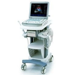 Mindray M5 veterinary ultrasound on mobile cart