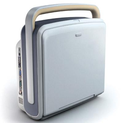 Chison Q6 Color, Portable ultrasound machine closed View