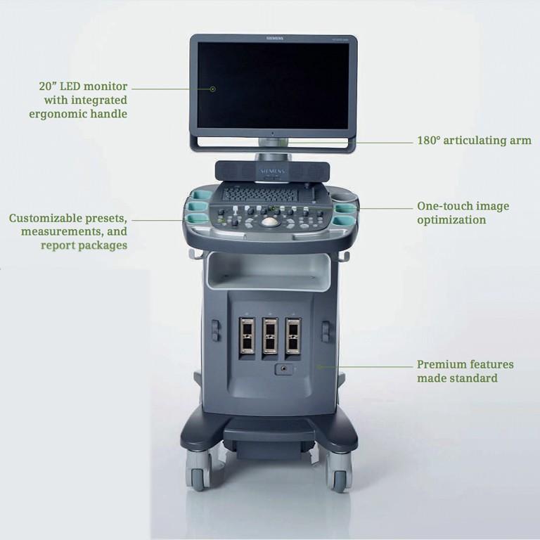 Siemens Acuson X600 Ultrasound Machine