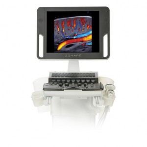 mindray zonare z.one pro ultrasound machine screen