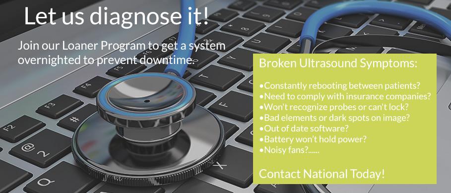 ultrasound repair ultrasound maintenance