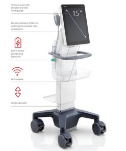 mindray-te5-ultrasound-machine-with-cart